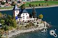 Hotel Restaurant Schlössl am See in Reschen